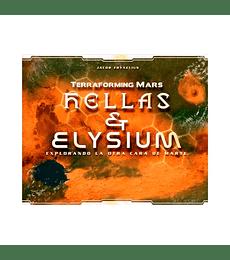Terraforming Mars exp. Hellas y Elysium