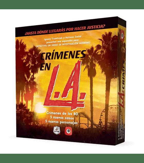 Detective exp. Crimenes en LA