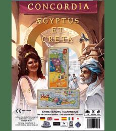 Concordia exp. Egipto y Creta