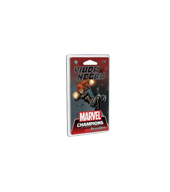 Marvel Champions Pack de Heroe Viuda Negra