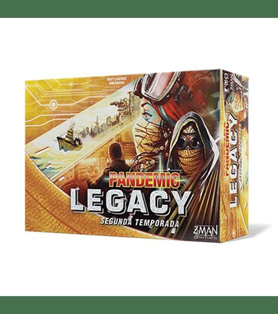 Pandemic Legacy 2da Temporada - Amarillo