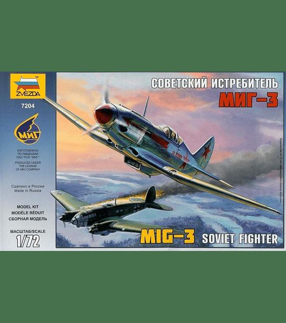ZVEZDA Soviet Figther Mig-3