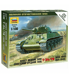 ZVEZDA Soviet Medium Tank t-34/76 (Mod. 1940)