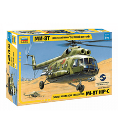 ZVEZDA Soviet Multi Role Helicopter MI-8T Hip-C