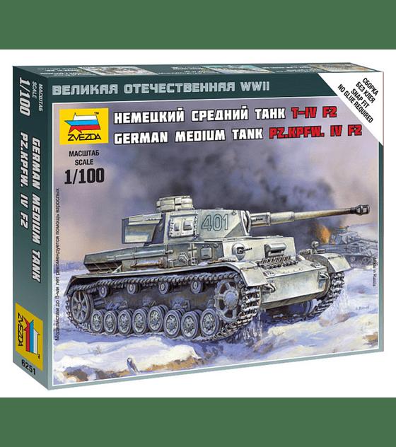 ZVEZDA German Medium Tank PZ.KPFW.IV AUSF. F2