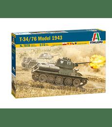 ITALERI T-34/76 Model 1943