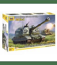 ZVEZDA Russian 152-mm Self Propelled Howitzer MSTA-S