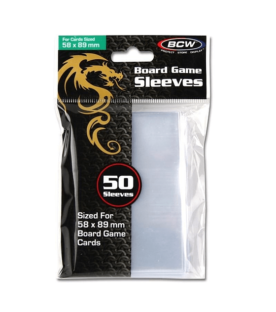 Protector BCW 58x89 Clear