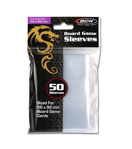Protector BCW 59x92 Clear