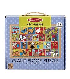 Puzzle de Piso ABC Animales 35 Piezas