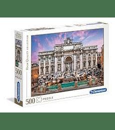 Puzzle 500 Pcs - Fontana di Trevi