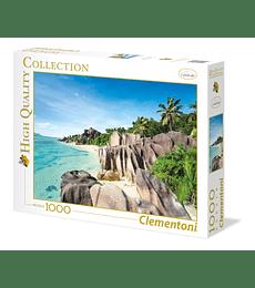 Puzzle 1000 Pcs - Paradise Beach Clementoni