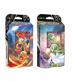 Preventa - V Battle deck Victini vs Gardevoir (Español)