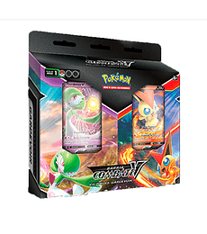 Preventa - V Battle deck Bundle Victini vs Gardevoir (Español)