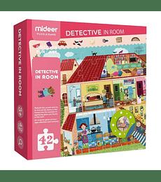 Puzzle Juego - Detective In Room