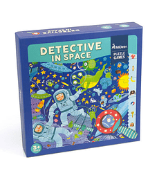 Puzzle Juego - Detective In Space
