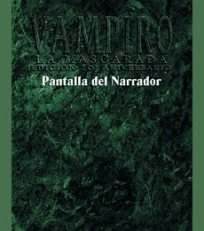 Pantalla del DM - Vampiro, La Mascarada Ed. 20° Aniversario
