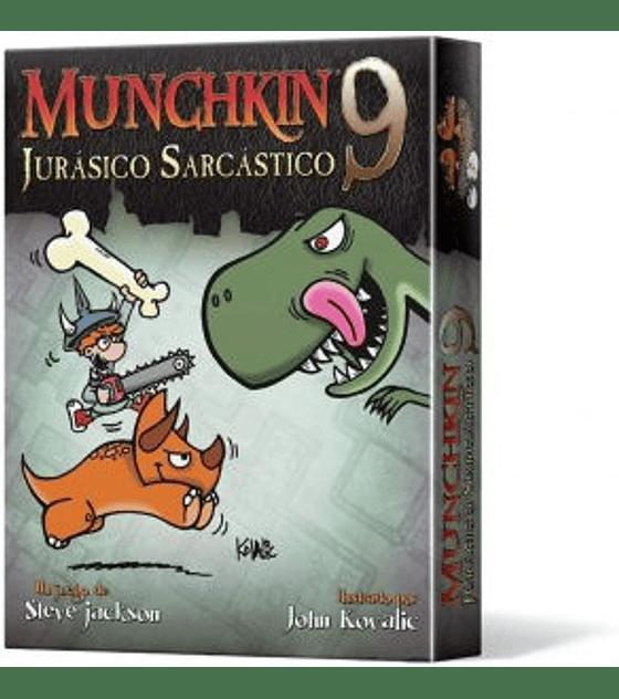 Munchkin exp 9 Jurasico Sarcastico