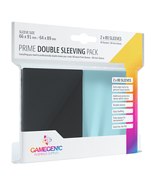 Protector Gamegenic Standard Double Sleeving Pack Negro