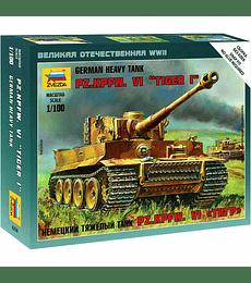 """ZVEZDA German Heavy Tank PZ.KPFW.VI """"Tiger I"""""""