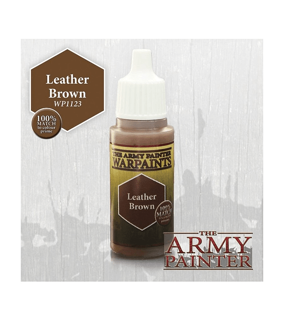 Leather Brown 100% Match To Primer
