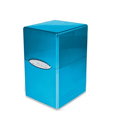 Deckbox Fire and Ice Satin Tower Deck Box