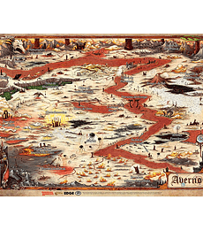 Tapete Mapa de Averno