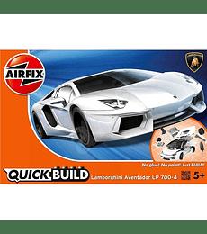 QUICKBUILD Lamborghini Aventador Blanco