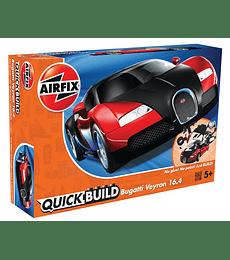 QUICKBUILD Bugatti 16.4 Veyron black/red