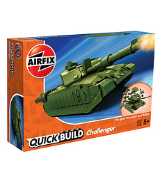 QUICKBUILD Challenger Tank Green