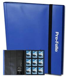 Carpeta BCW Pro-Folio 9 Bolsillos Azul