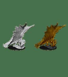 Figura D&D Young Gold Dragon