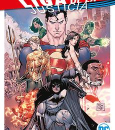 Liga de la Justicia Vol.1 Las Maqunas de la Extincion