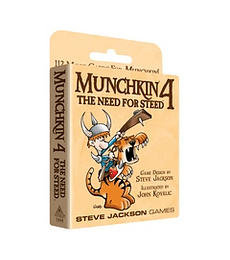 Munchkin exp 4 The Need For Steed - Ingles