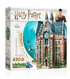 Puzzle 3D 420 Pcs - Torre del Reloj de Hogwarts