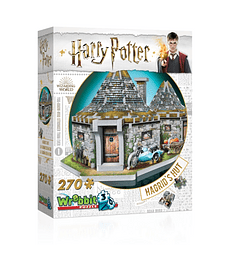 Puzzle 3D 270 Pcs - La Cabaña de Hagrid