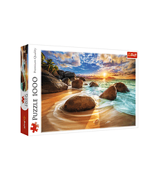 Puzzle Trefl 1000 Pcs - Samudra Beach, India