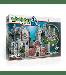 Puzzle 3D 890 Pcs - Castillo Neuschwanstein