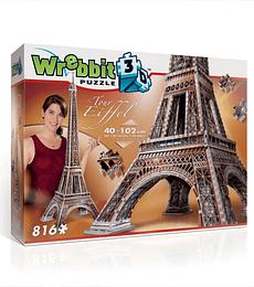 Puzzle 3D 816 Pcs - Torre Eiffel