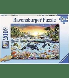 Puzzle 200 XXL Pcs - Orca Paradise Ravensburger