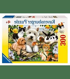 Puzzle 300 XXL Pcs - Happy Animal Buddies Ravensburger