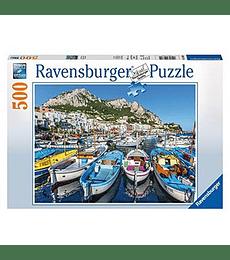 Puzzle 500 Pcs - Colorful Marina Ravensburger
