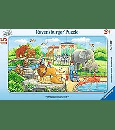 Puzzle 15 Pcs - Trip to the Zoo Ravensburger