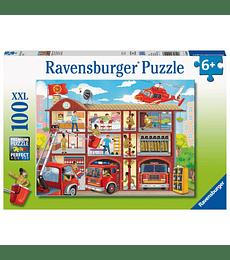 Puzzle 100 XXL Pcs - Firehouse Frenzy Ravensburger