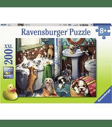 Puzzle 200 XXL Pcs - Tub Time Ravensburger