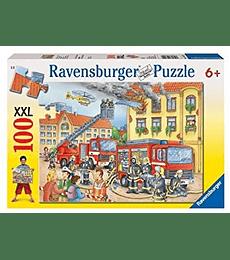 Puzzle 100 XXL Pcs - Fire Department Ravensburger