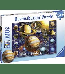 Puzzle 100 XL Pcs - The Planets Ravensburger