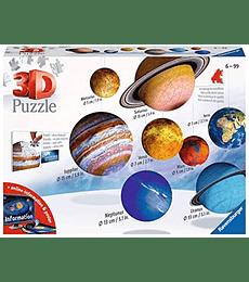 Puzzle 3D - Sistema Solar Ravensburger