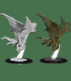 Figura D&D Young Bronze Dragon
