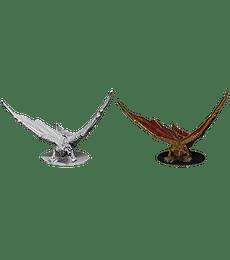 Figura D&D Young Brass Dragon
